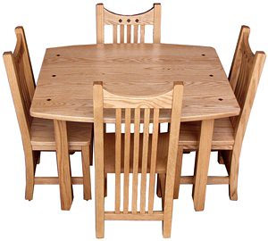 Trend Royal Mission Table and Chair Set