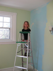 Painting the Babies ROom