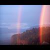 Crown Point - Rainbows (Jesse Estes) Tags: sunset rainbows crownpoint 70200 5d2 jesseestesphotography