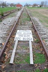 _BlockSignOhioCityOH4-7-10 (railohio) Tags: ohio abandoned trains ohiocity ihrc speg