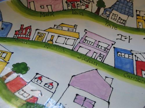 village platter detail