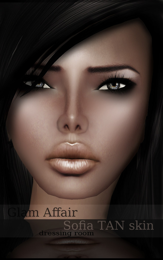 -Glam Affair - Sofia Tan skin n11 ( Dressing Room )