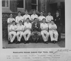 Stamford School Radcliffe Junior Cup Team 1954