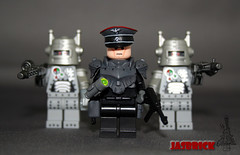 Weird War II German Robot Controller (JasBrick) Tags: weird war lego secret wwii science robots german minifig custom