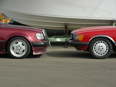 Red X Red (q8500e) Tags: auto red car wow germany mercedes benz cool nikon sl coolpix kuwait mb s10 q8 280sl w107 q8i q8500e redxred