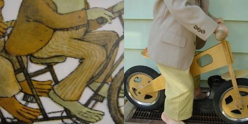 kids' clothes week: frog's pants