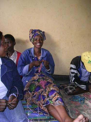Bead Making in Rwanda