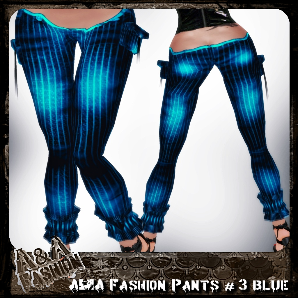 A&A Fashion Pants #3 Blue