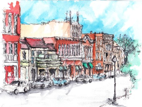 Downtown Athens, Ohio