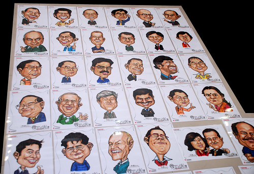 Caricatures for Toshiba - 2