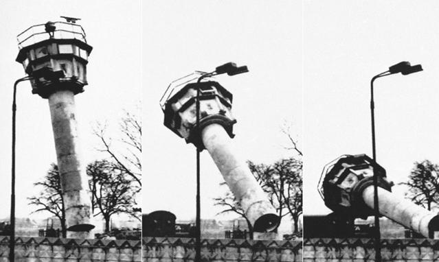 柏林墙倒塌照片18