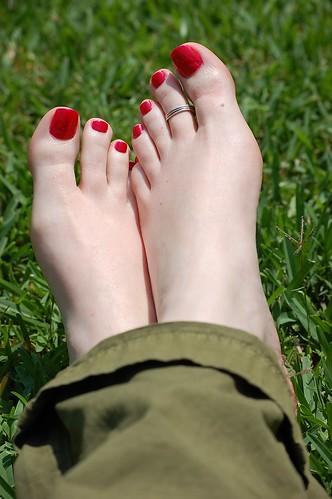 Spring Toe Ring