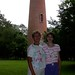 Mary and Alexandra at Currituck Lighthouse