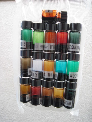 Ink Samples from Pear Tree Pens