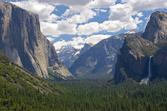 Yosemite Valley (smkurtas) Tags: california ca camping camp cali nationalpark nikon hiking hike yosemite granite halfdome yosemitenationalpark sierras inspirationpoint rockclimbing bridalveilfalls yosemitevalley tunnelview wawonatunnel wawona d80
