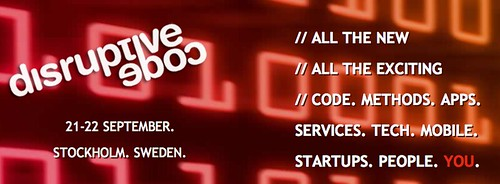 Disruptive Code Is Off The Ground. Just Sayin' #dcode