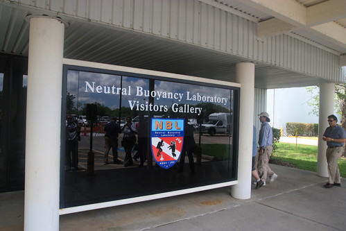 Entrance of the Neutral Buoyancy Lab