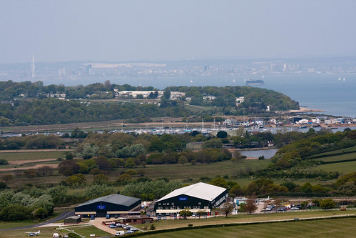 Look towards Portsmouth