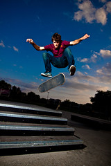 IMG_1838-2 (Chris Meium Photography) Tags: summer minnesota night canon skateboarding central tokina tricks skatepark flip skateboard trick grind strobe 1224 willmar 50d
