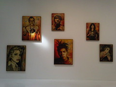 Shepard Fairey at Deitch Projects