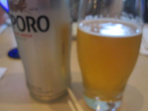 Beer at Mikasa