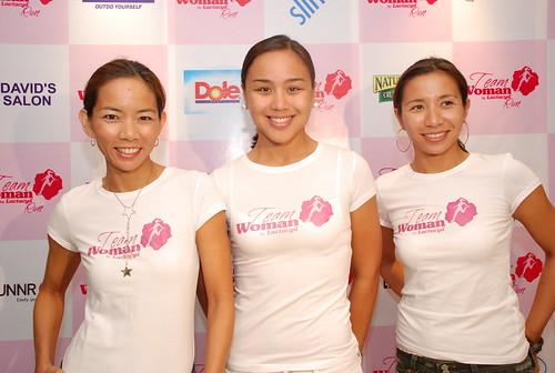 Lactacyd Team Woman Run Presscon: Ambassadors