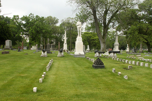 Civil War Graves and Memorial
