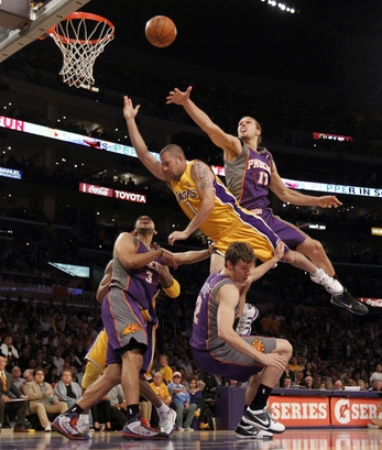Lakers Suns Basketball