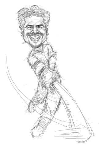 digital sketch of Alan Hermosillo Ibrarra - 2 small