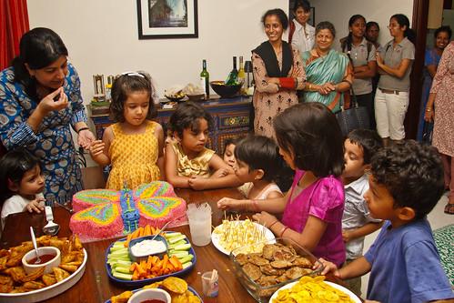 Tiya's 4th Birthday Party