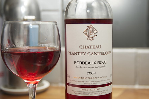 Wine of the Month: 2009 Chateau Plantey Canteloup Rosé Bordeaux