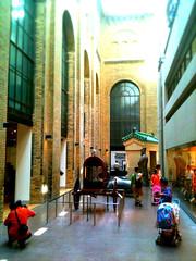 Royal Ontario Museum (darrelbest) Tags: toronto ontario queenspark rom royalontariomuseum iphone bloorstreet tiltshif