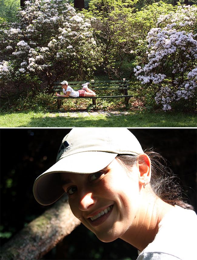 me at arnold arboretuml
