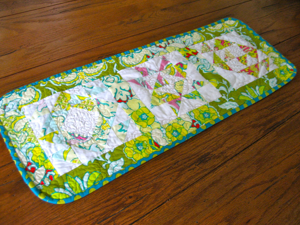 Table Runner Made for my ALFALC Swap Partner