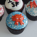 San Francisco Themed Organic Cupcakes by Cushy Cakes