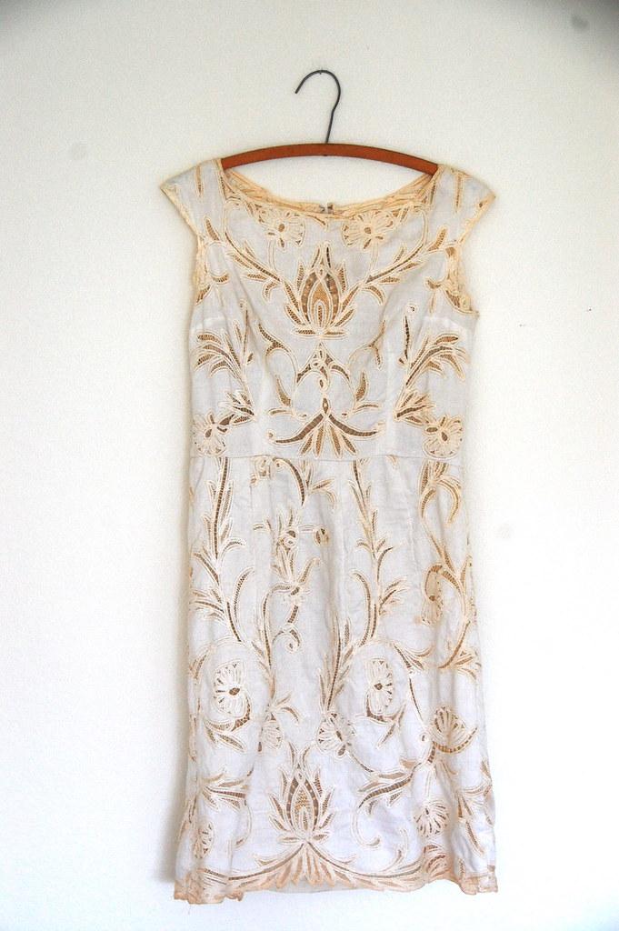 1930's/40's lace dress