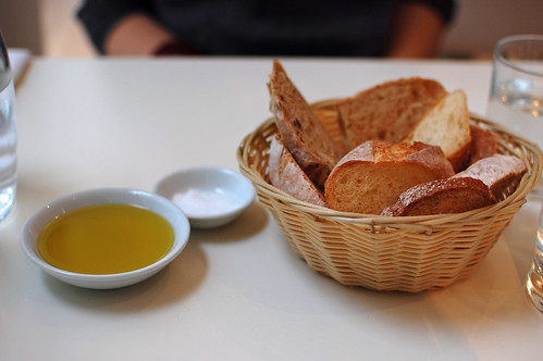 Bread and Olive Oil and Salt