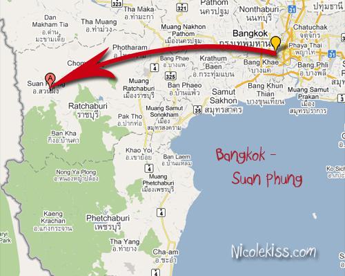 bangkok to suan phung