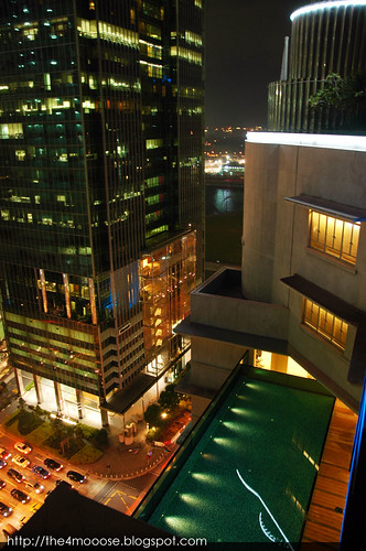 Ascott Raffles Place - Swimming Pool (Night)