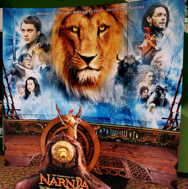 The Chronicles of Narnia: The Voyage of the Dawn Treader 2010 Movie poster