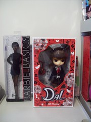 New members (dreams of Violets) Tags: toys dolls barbie pullip blythe