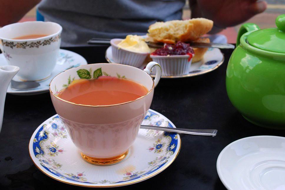 tea + scones