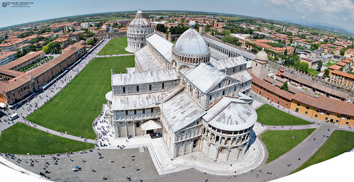 A leaning view of Pisa