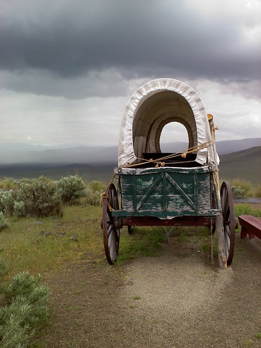 Covered wagon via cameraphone