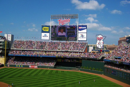 My First Trip to Target Field