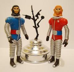 Planeta de los Simios. Planet of the Apes. Astronautas simios. (Jos Migueles Toy Bootleg) Tags: mxico vintage toy toys plastic