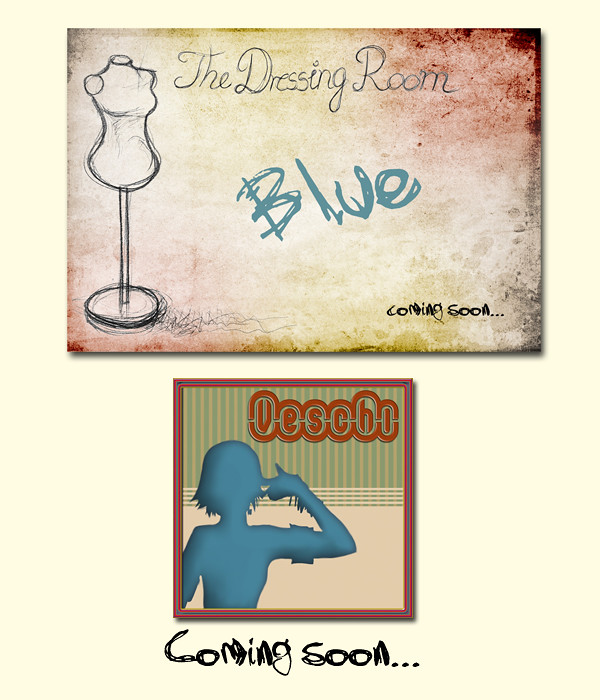 The Dressing Room BLUE - Veschi