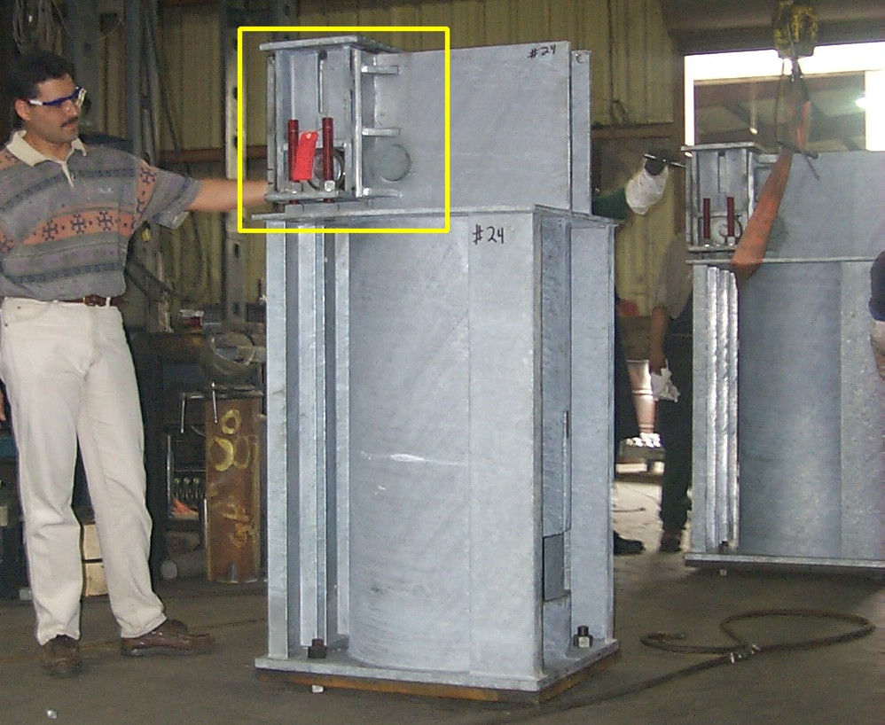 "68"" In Height Vertical Upthrust Constants"