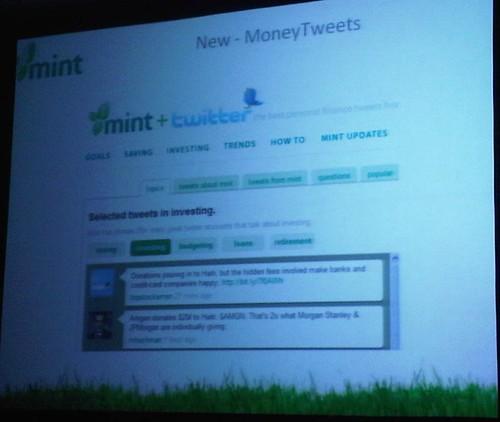 money tweets slide