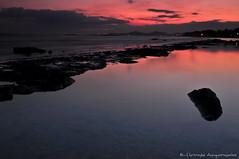 .. (Christophe_A) Tags: longexposure sunset sea orange reflection beach water colors nikon colorful purple crystal dusk tripod athens greece bluehour christophe grad cokin sounio d90 anavyssos christopheanagnostopoulos χριστοφοροσαναγνωστοπουλοσ χριστόφοροσαναγνωστόπουλοσ